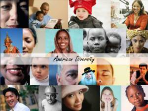American Diversity Collage