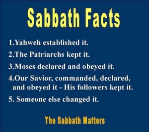 Sabbath Facts