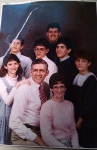 Family circa 1984